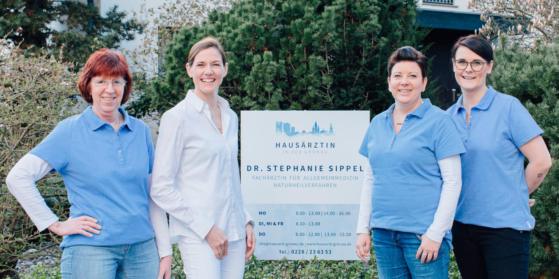 Hausarzt Bonn Gronau - Sippel - Team