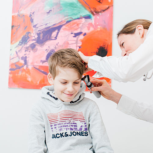 Hausarzt Bonn Gronau - Sippel - Untersuchung in der Praxis